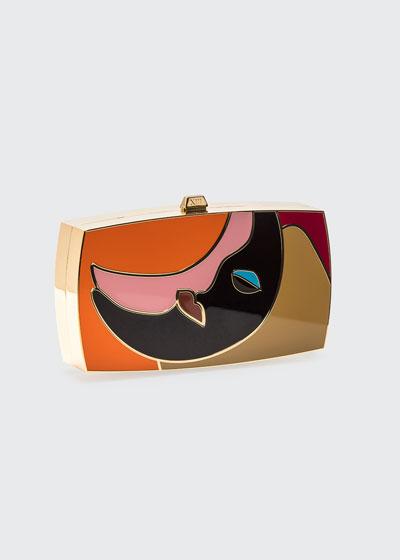 The Kiss Minaudiere Clutch Bag