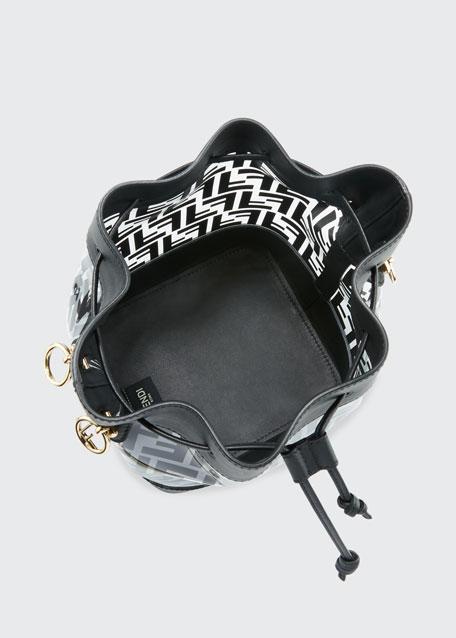 Mon Tresor Grande FF Plexi Bucket Bag