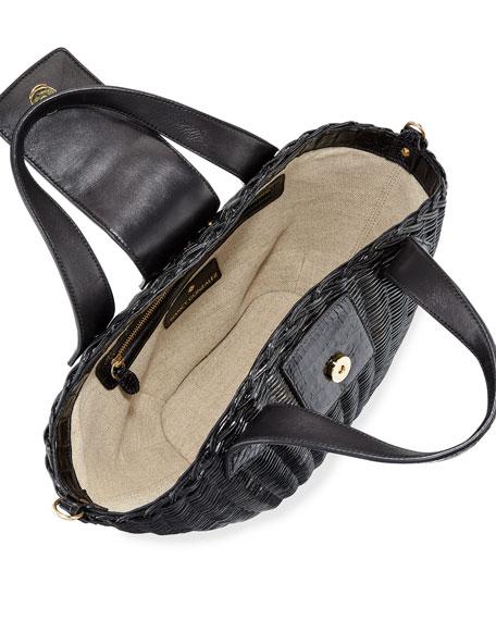 Small Wicker Tote Bag