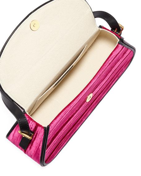 Uma Crushed Velvet Shoulder Bag
