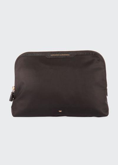 Lotions & Potions Cosmetics Bag  Black