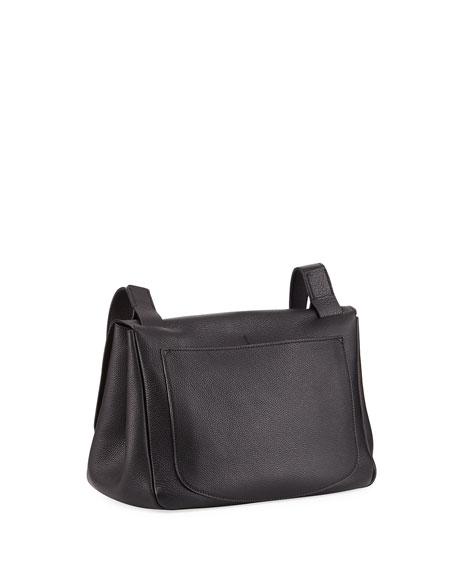 Small Mail Bag in Fine Grain Leather