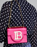 B BAG 18 SATIN