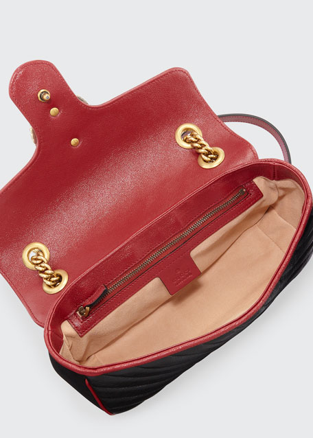 GG Marmont 2.0 Small Shoulder Bag - Golden Hardware