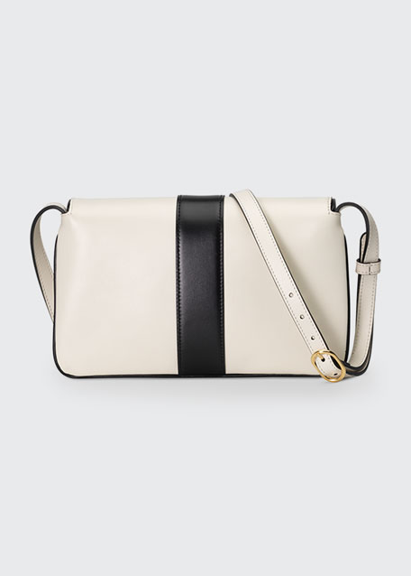 Arli Small Two-Tone Shoulder Bag