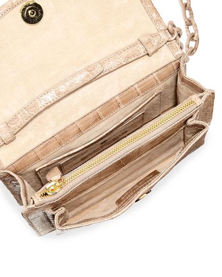 Eden XS Crocodile Crossbody Bag