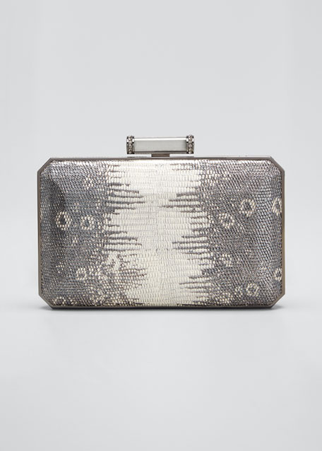 Soho Mia Leather Clutch Bag