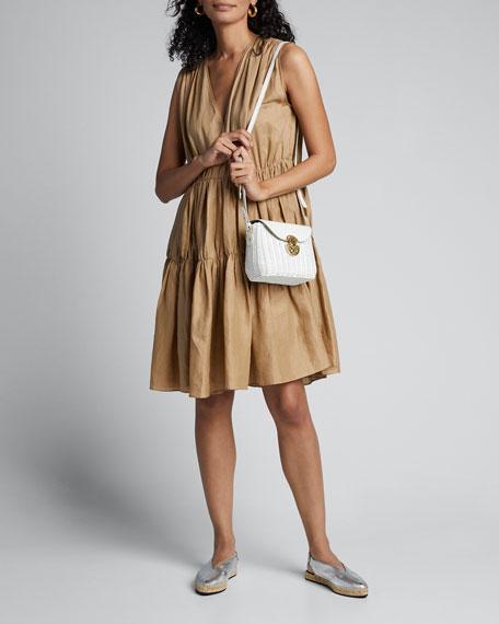 Midollino Large Buckle Shoulder Bag