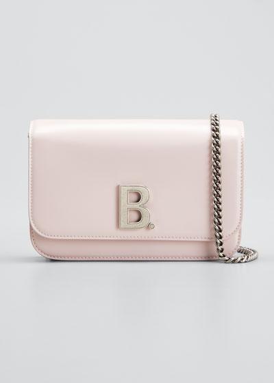 B Shiny Box Wallet On Chain  Bag