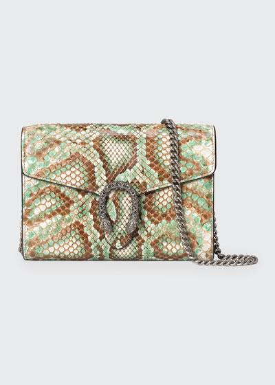 Dionysus Mini Python Chain Bag