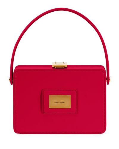 Palmellato Leather Box Bag
