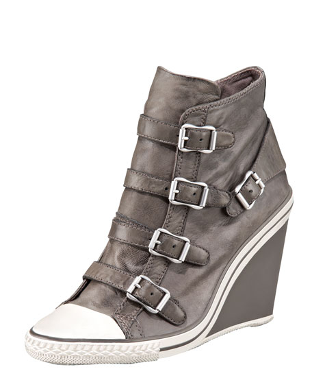 High-Top Wedge Sneaker