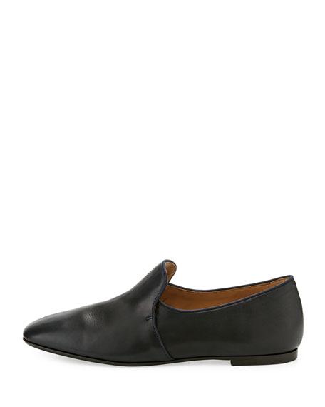 Alys Leather Slipper Flat