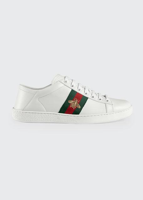 Bee Web Sneakers, White