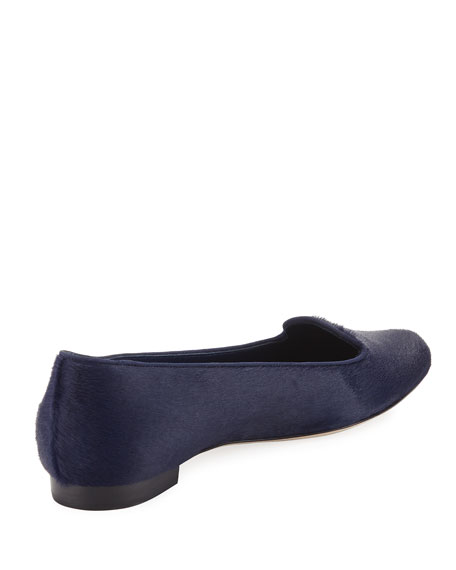 Sharif Calf Hair Smoking Slipper