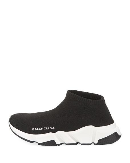4d72c1d3f14 Balenciaga Low Knit Platform Trainer Sneakers