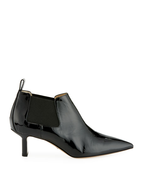 Ang 55mm Fold-Over Suede Booties