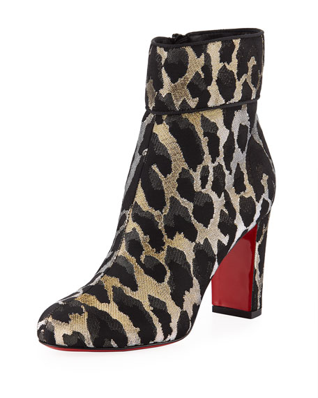 3d50c3fcf3af Christian Louboutin Moulamax 85mm Feline Red Sole Booties