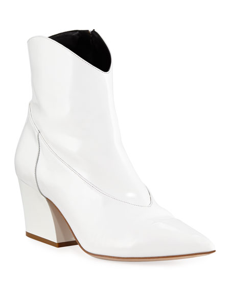 Dylan Leather 60mm Booties