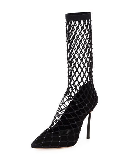 Casadei Spidergirl Half Boot Pump
