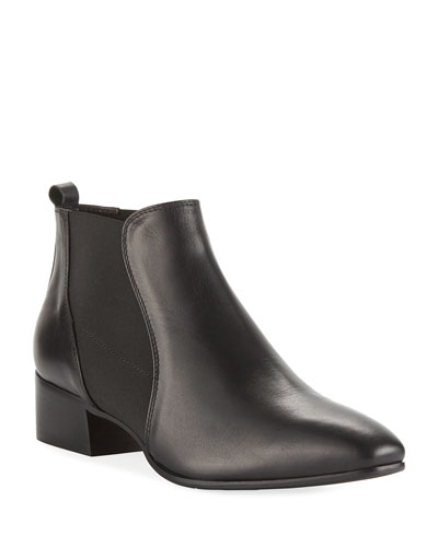 Falco Gored Leather Booties