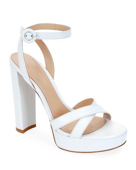 Platform Crisscross Sandals