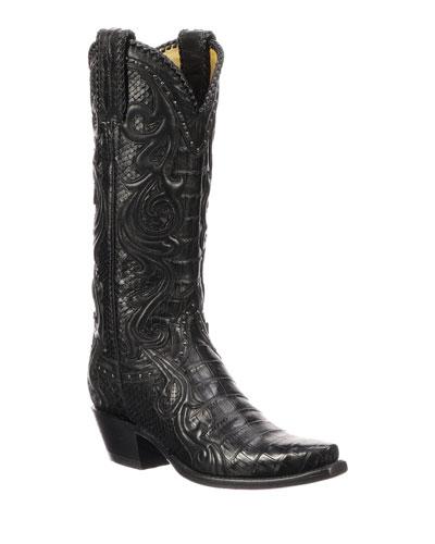 Sheridan Python Cowboy Boots
