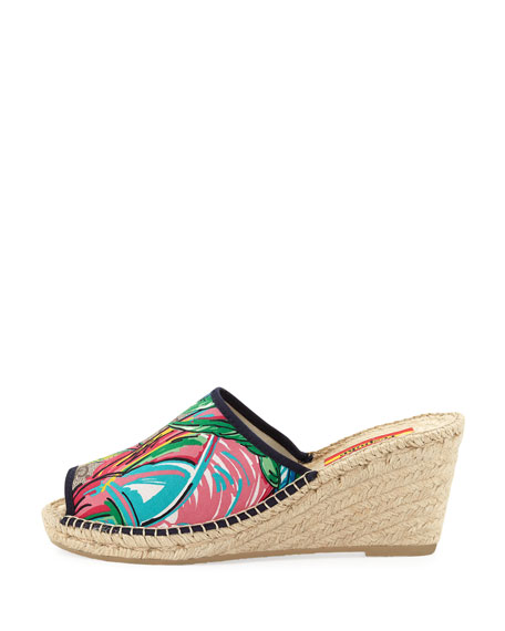Forella Wedge Slide Espadrille Sandals
