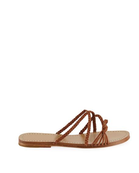 Brock Braided Suede Sandals