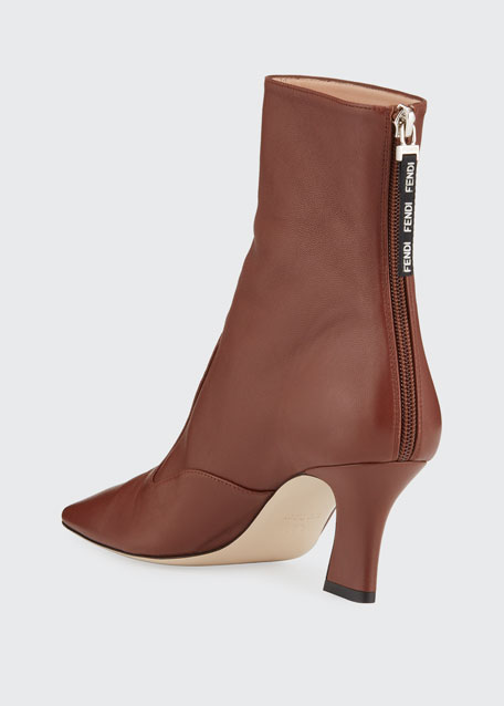 FFreedom 65mm Calf Leather Booties