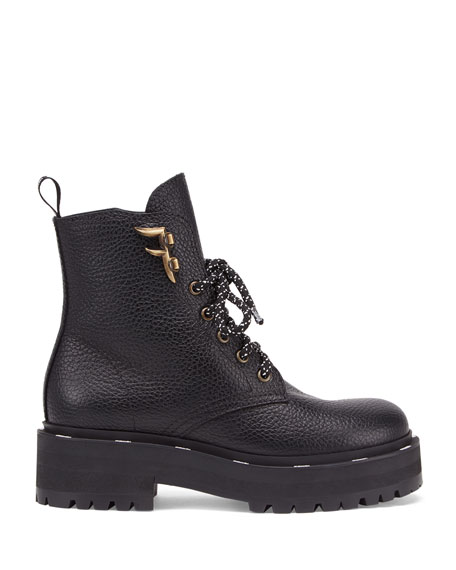 FFreedom Leather Hiker Booties