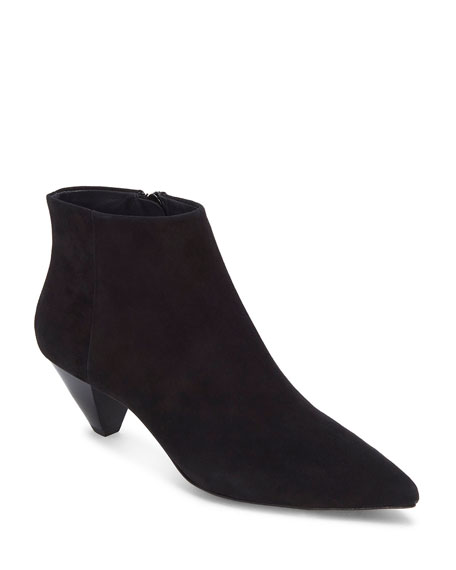 Julienne Pointed Zip Booties