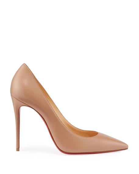 Kate 100mm Napa Red Sole Pumps