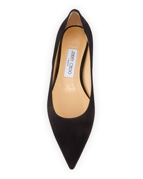 Love Suede Pointed Flats
