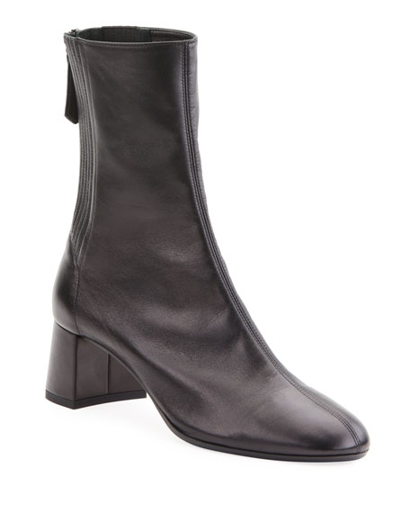 Saint Honore 50mm Leather Booties
