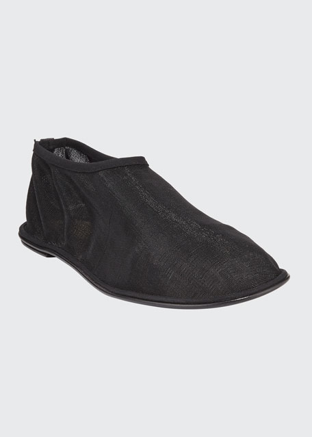 Sheer Sock Nylon Flats