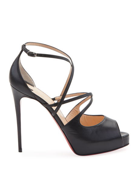 Holly Crisscross Red Sole Sandals