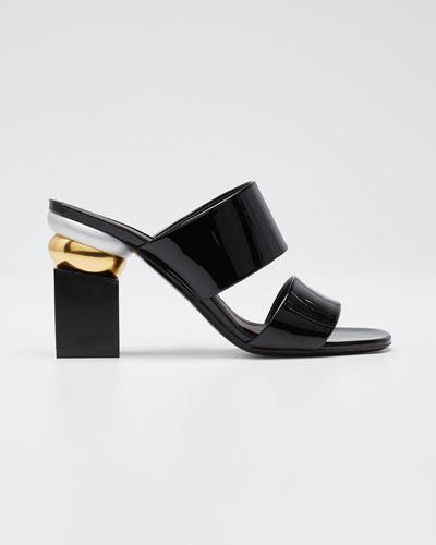 Lotten Heel-Detail Sandals