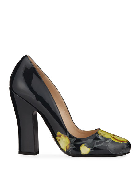 Vernice St. Beauty Roses Pumps