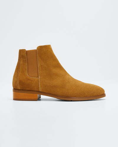 Rory Suede Booties
