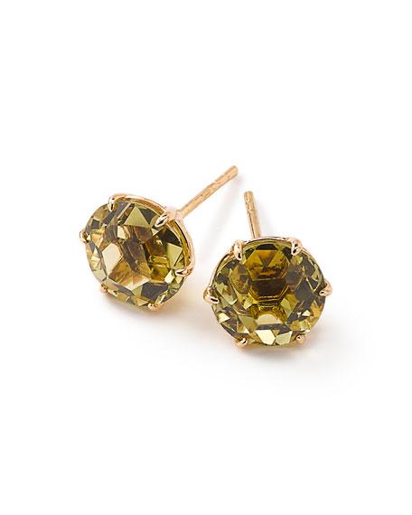 18k Rock Candy Round Stud Earrings
