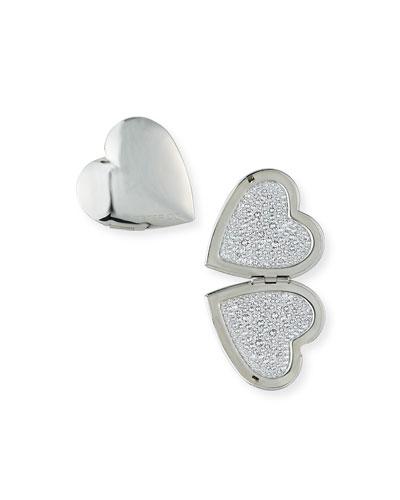 Heart Locket Swarovski Crystal Earrings