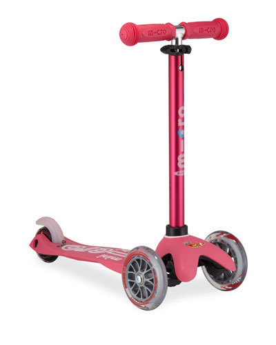 Micro Mini Deluxe Kick Scooter  Pink  Ages 2-5
