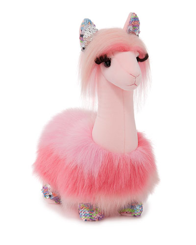 Sakura the Llama Fuzzle Stuffed Animal