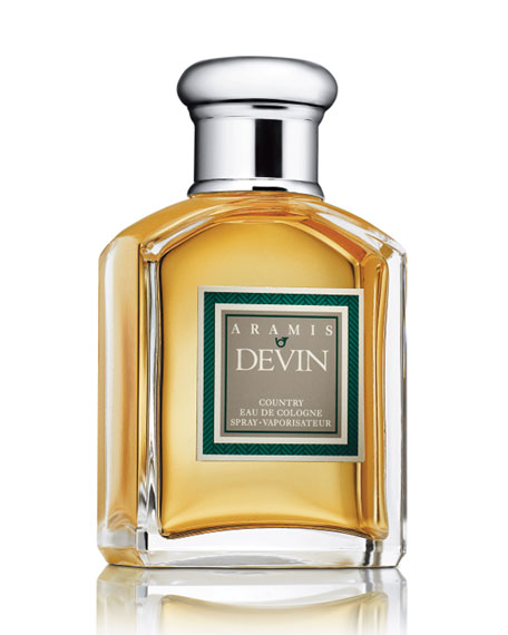 Devin Country Eau de Cologne, 3.4 oz./ 100 mL