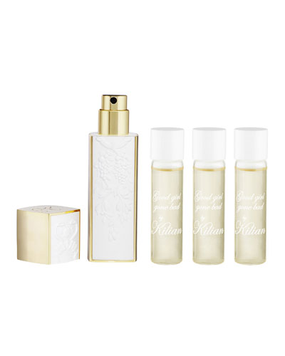 Good girl gone Bad Travel Spray with its 4 x .25 oz refills