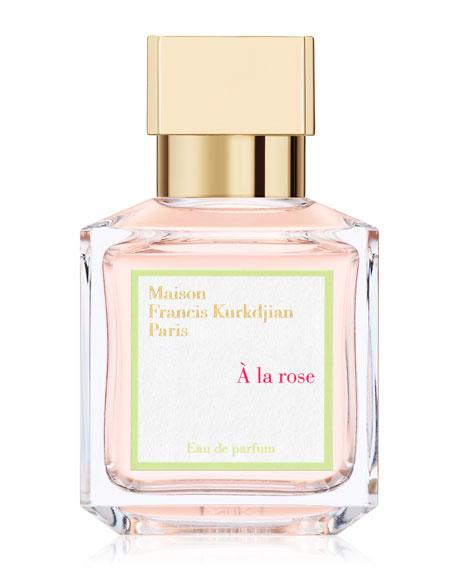 À la rose Eau de Parfum, 2.4 oz./ 70 mL