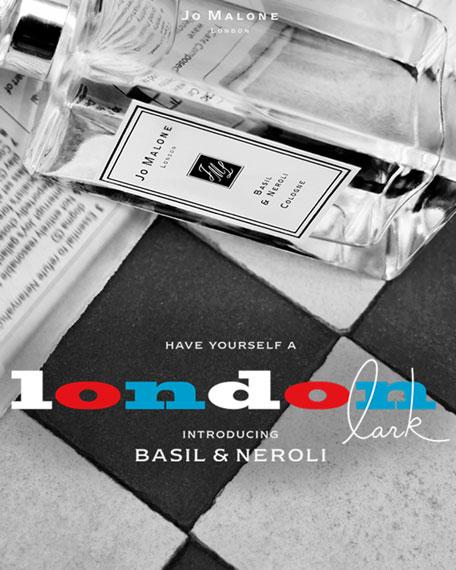 Basil & Neroli Cologne, 100 mL