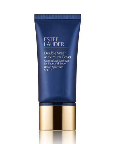 Double Wear Maximum Cover Camouflage Makeup for Face and Body SPF 15  1.0 oz./ 30 mL