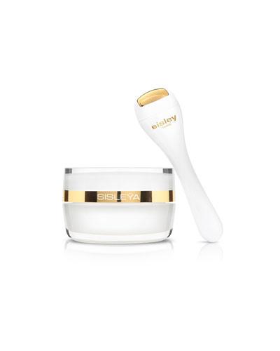 Sisleya L'Integral Anti-Age Eye & Lip Contour Cream & Limited Edition Massage Tool  0.5 oz.